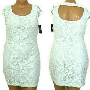 🆕BCX XL, Open Back Mint Lace Mini